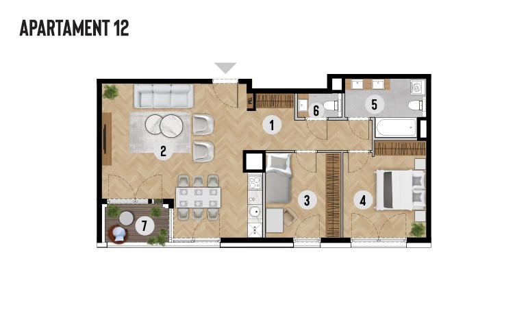 Apartament 12