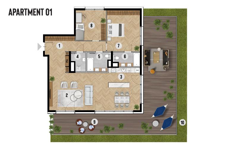 Apartment 01